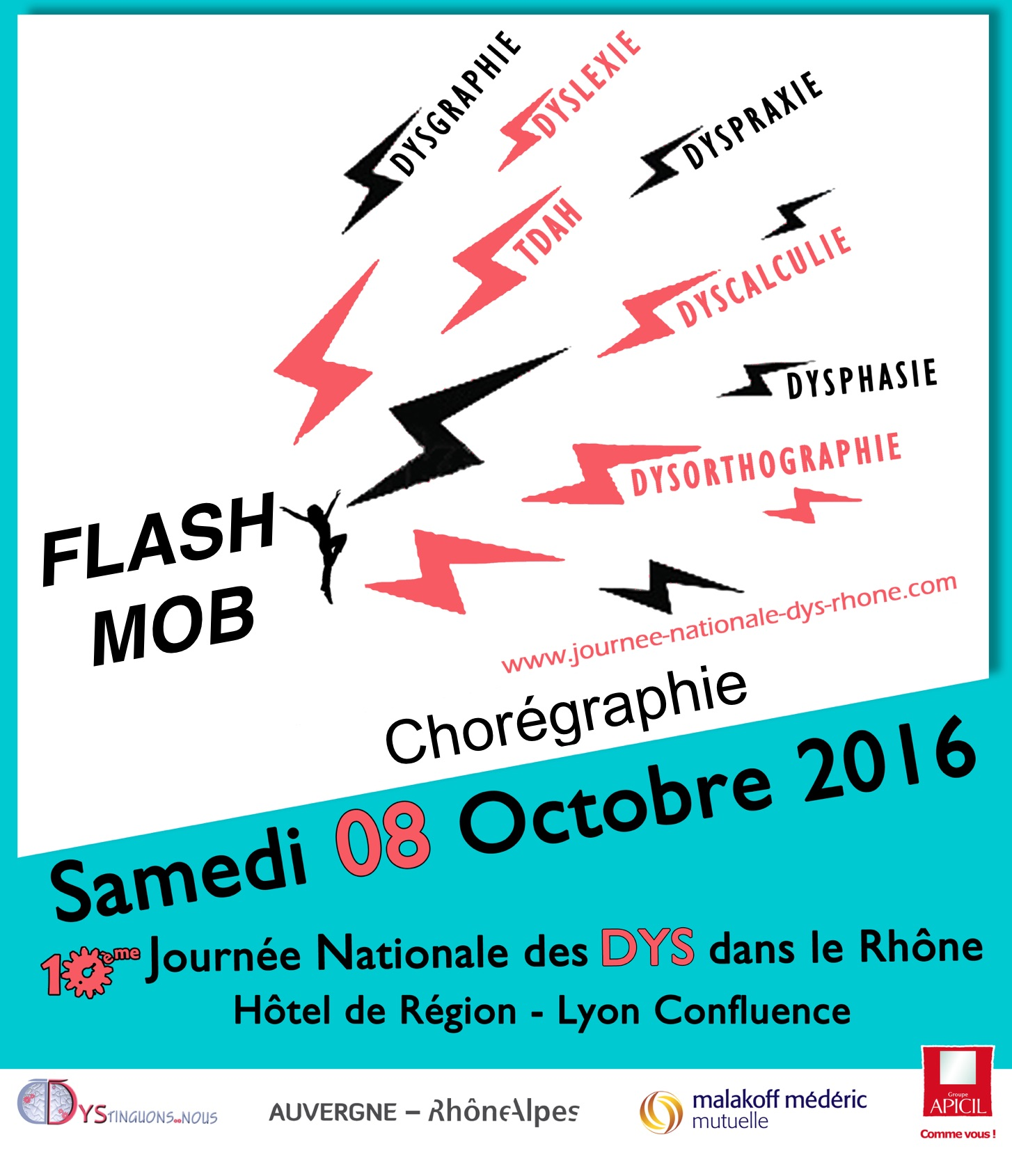 affiche Flash Mob